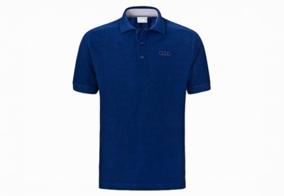 Audi Poloshirt / Polo- Shirt, blau