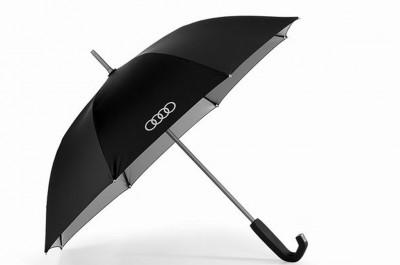 Audi Stockschirm, Regenschirm Premium mit Bügelgriff