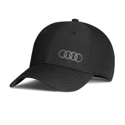 Audi Cap Premium , Baseballkappe/Basecap schwarz