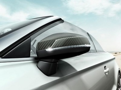 Audi A3 Carbon Spiegelkappen - Satz