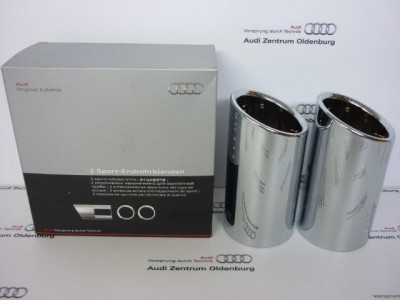 Audi A4 Endrohrblenden/ Auspuffblenden, Audi A4 8W/B9, 8W0071762