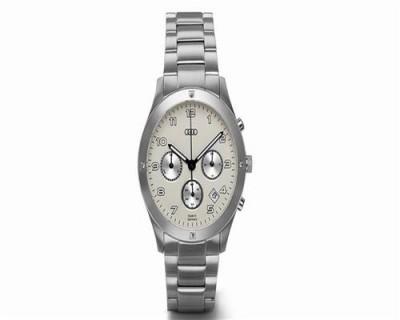 Audi Damen Chronograph Edelstahl