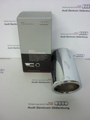 Audi A3 (Modell 8V) Endrohrblende/Auspuffblende, chrom, 8V0071771