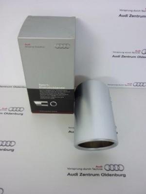 Audi A1 /A3 Endrohrblende/Auspuffblende, matt, 8P0071771A