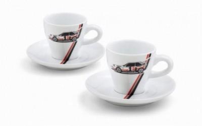 Audi Espressotassen -Set, heritage