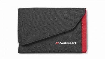 Audi Geldbörse, Klettverschluß