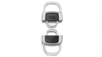 Audi Schlüsselanhänger, Metall/ teilbar