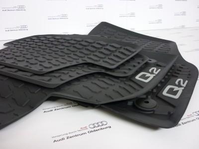 Audi Q2 Gummimatten, Allwettermatten vorne + hinten