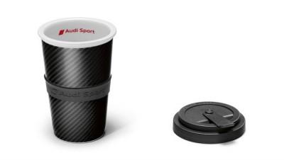 Audi Sport Becher, Carbonoptik