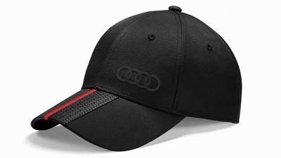 Audi Baseballkappe Premium schwarz