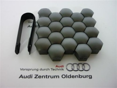 Audi und VW Radschraubenkappen (20Stk.) inkl. Abzieher