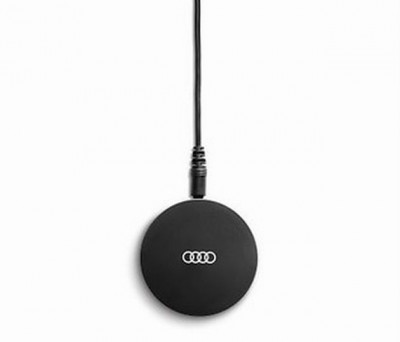Induktive Audi Ladestation für Mobiltelefone, Qi - Standard