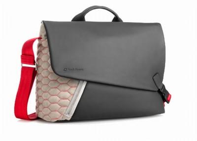 Audi Messenger Bag, Leder/ Alcantara