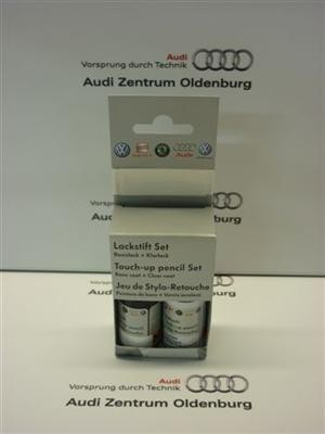 Audi Lackstift Set LY9Z; Panthero-metallic (schwarz),Lackstift Y9Z