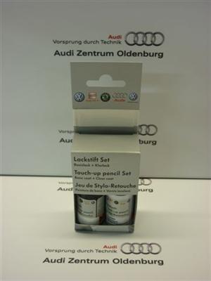 Audi Lackstift Set LY9Z; Panthero-metallic (schwarz),Lackstift Y9Z