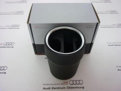 Audi Ablagebecher zum Einsatz z.B. von Mobiltelefon und Fahrzeugschlüsseln