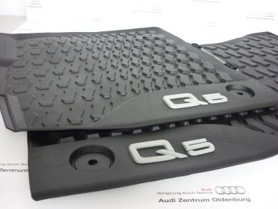 Audi Q5 Allwetterfussmatten Q5 Gummimatten (2 Stk. vorne) ab Bj.2017