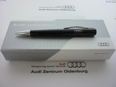Audi Kugelschreiber, Audi Ringe Kugelschreiber schwarz