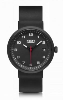 Audi Uhr, schwarz