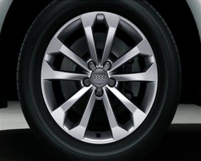 Winterkomplettradsatz Audi Q5, 18 Zoll, 5-V-Speichen-Design