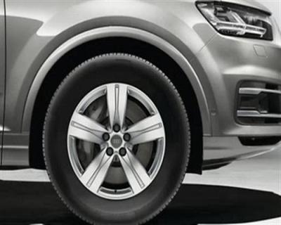 Winterkomplettradsatz Audi Q7, 18 Zoll, 5-Speichen-Design