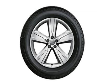 Winterkomplettradsatz Audi Q7, 20 Zoll, 5-Arm-Crena-Design