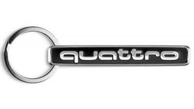 Audi Schlüsselanhänger quattro