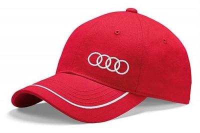 Audi Cap rot, Baseballcap