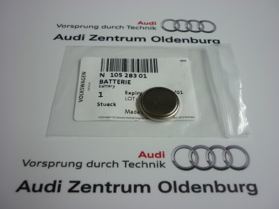 Original Audi Schlüsselbatterie