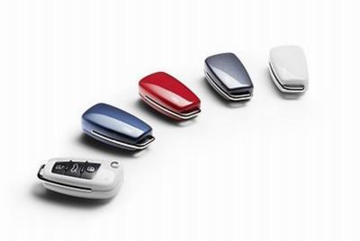 Audi Schlüsselblende Audi Ringe, lackiert in verschiedenen Farben