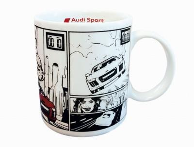 Audi Sport Tasse, Comic