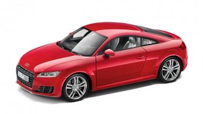 Modellauto Audi TT Coupe 1:18 in tangorot