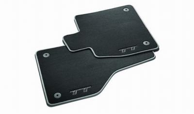 Original Audi TT (8S) Fußmatten, Premium Textilfußmatten, Audi Veloursmatten