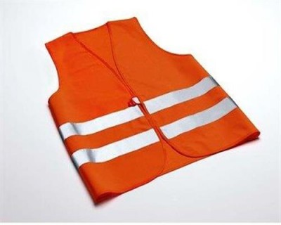 Audi Warnweste, orange