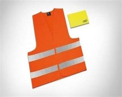 Audi Warnwesten - Set für Erwachsene, orange