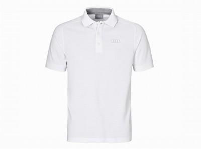 Audi Poloshirt, Polo - Shirt, weiss