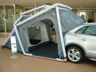 Audi Campingzelt, Hauptzelt